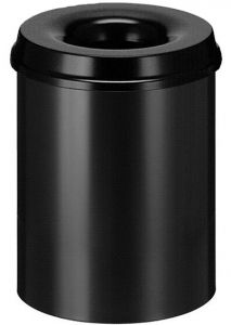 Self extinguishing waste paper bin 15 liter
