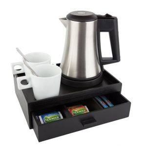Hospitality Tray with drawer
