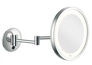 Shaving mirror Led City Light Twin Arm