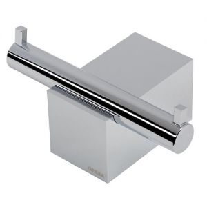 Double Towel Hook Chrome 60 mm