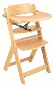 Baby High Chair Beech