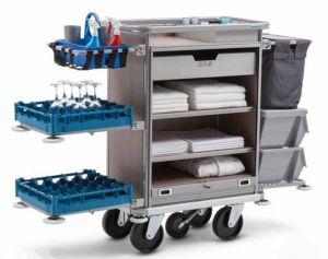 Housekeeping Trolley Premium Clean