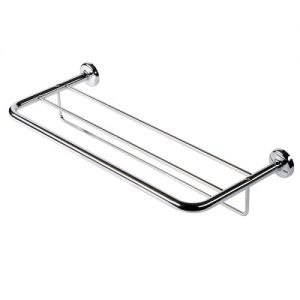 Bath towel shelf 60 cm with towel rail