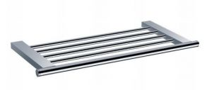 Bath towel shelf Chrome
