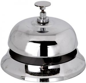 Reception bell chrome
