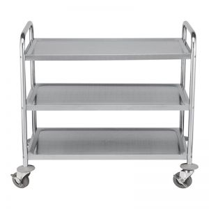 Service trolley 3 layer Stainless steel