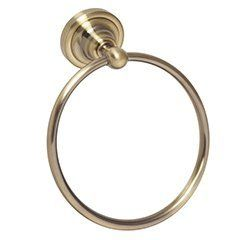 Ring towel holder gold