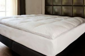 Featherbed matras topper 160 x 200 cm