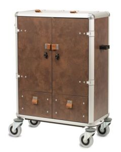 Luxe Housekeeping Trolley Cortes