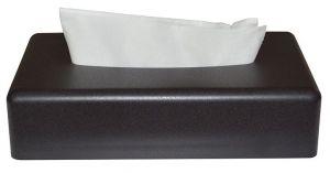 Tissuebox rechthoek Zwart