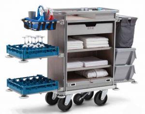 Housekeeping Trolley Premium Clean