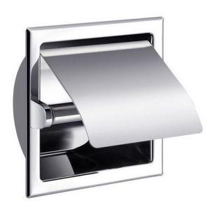 Inbouwmodel toiletrolhouder met klep