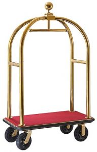 Bagage trolley Goudkleurig