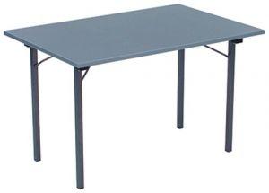 Inklapbare tafel met U onderstel
