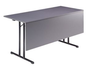 Inklapbare tafel met schaamschot